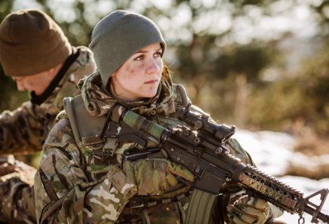 Mulher na guerra